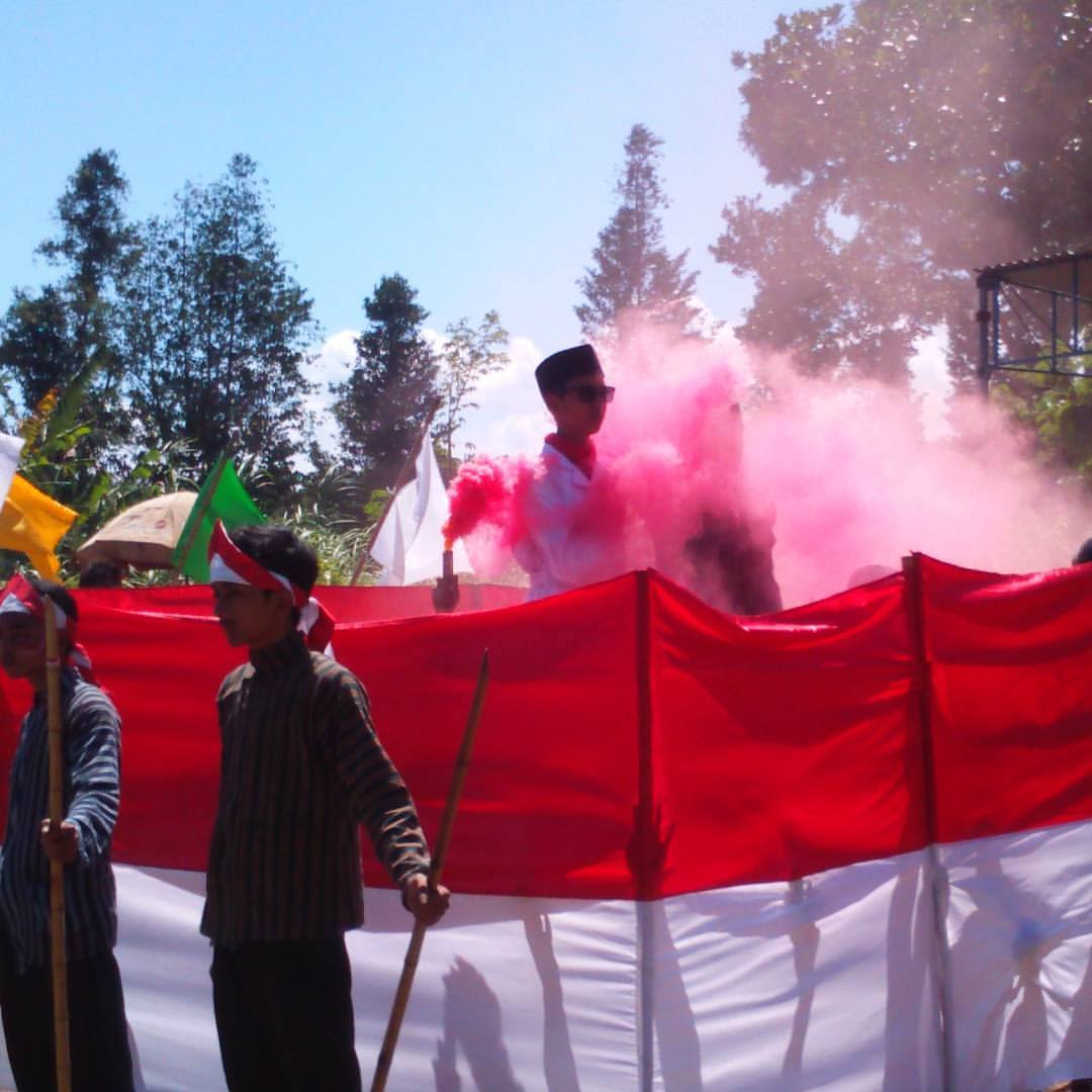 Karnaval Smkmuhieda #HUT72RI