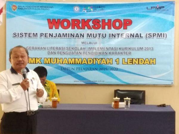 Workshop Sistem Penjaminan Mutu Internal (SPMI)