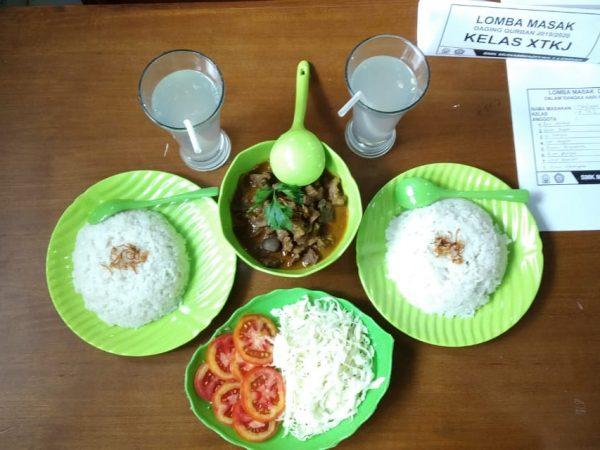 Lomba masak daging Qurban 1440H