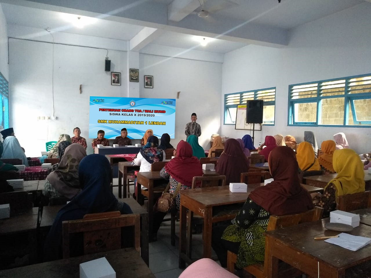 Pertemuan Orang Tua/Wali Murid kelas X 2019/2020