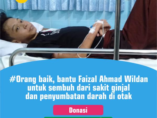 Donasi untuk Faizal