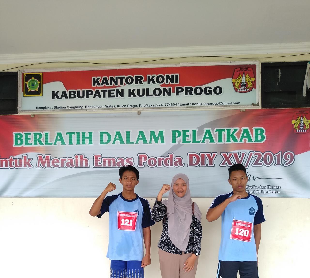 Selamat Juara 1 Lempar Lembing Seleksi Popda Kulon Progo