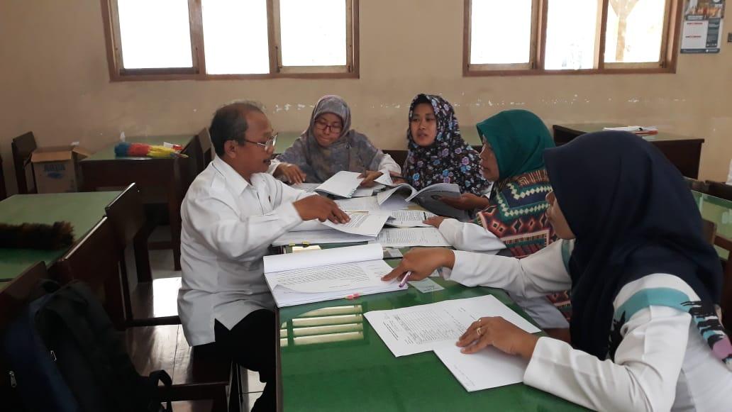 Supervisi Akademik dari Balai Dikmen Kulon Progo