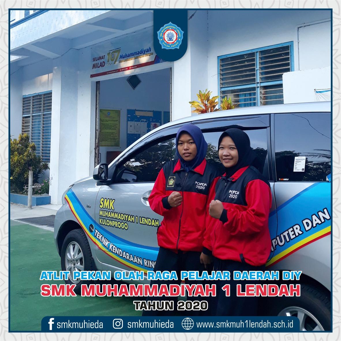 Atlet POPDA DIY SMK Muhammadiyah 1 Lendah tahun 2020