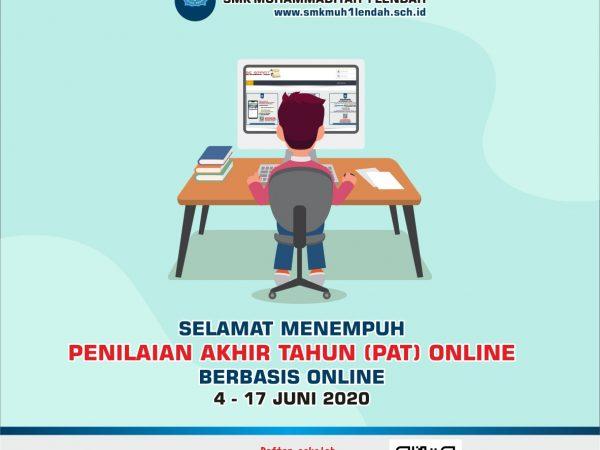 Selamat Melaksanakan PAT Daring / Online tahun 2019/2020