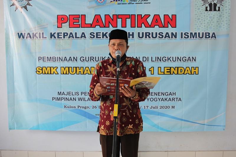 Pelantikan Wakaur Ismuba Bpk. Nur Fuad Wahyudi, S.Ag.