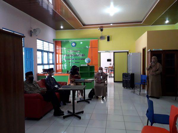 Visitasi Perpustakaan dari Perpusda Kulon Progo dan Majelis Dikdasmen PDM Kulon Progo