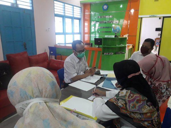 Visitasi Perpustakaan dari DPAD D.I.Yogyakarta