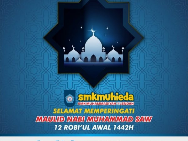 Selamat Memperingati Maulid Nabi Muhammad SAW 1442 H