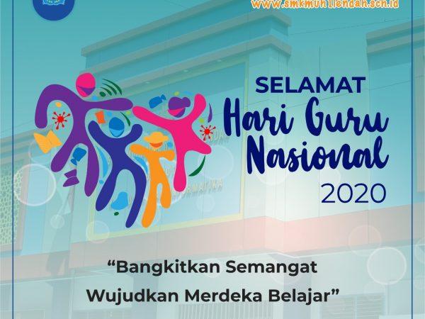 Selamat Hari Guru tahun 2020