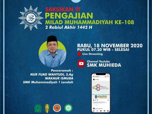 Saksikan ! Pengajian Milad 108 Muhammadiyah