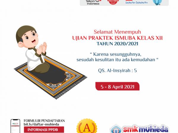 Ujian Praktek ISMUBA 2020/2021